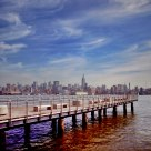 New York view from Hoboken