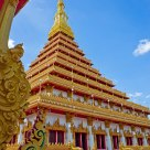 Nine golden pagoda