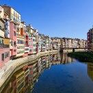 El río Oñar a su paso por Girona