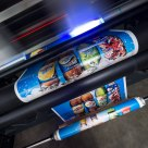Digital printing floor stickers