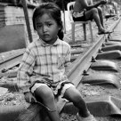 THE CHILD ON THE RAILWAY