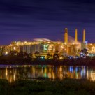 Queensland Alumina Ltd at Night