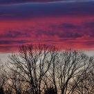 Evening Sky in January
