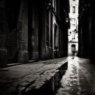 Calles mojadas