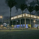 HAWAII CAPITOL AT NIGHT