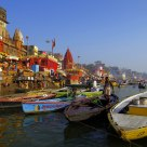 The Ganges`s boat