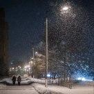 Snow in Glazov