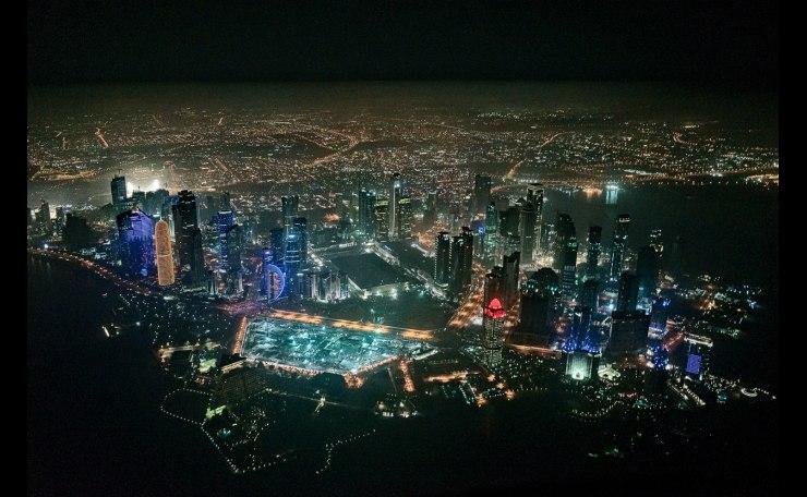 Doha aerial