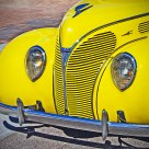 YELLOW '38 FORD