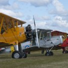 Stearman and Tiger Moths at Dala-Järna Airshow