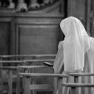 Nun at Begijnhof Brugge