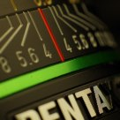 Detail of Pentax DA15/4