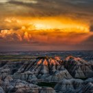 Badlands Landscapes Series 2 - 029 Storm Clouds