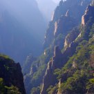 Beautiful Huangshan Mountain