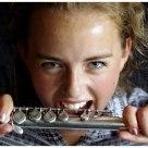 Flute pupil....
