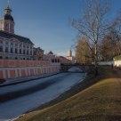 Alexander Nevsky Monaster. Saint Petersburg