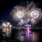 Independence Day Fireworks on San Diego Bay