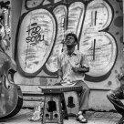 Street, Street Musician, Black Sun
