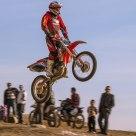 Jumping Motocross