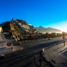 The morning of  Potala Palace