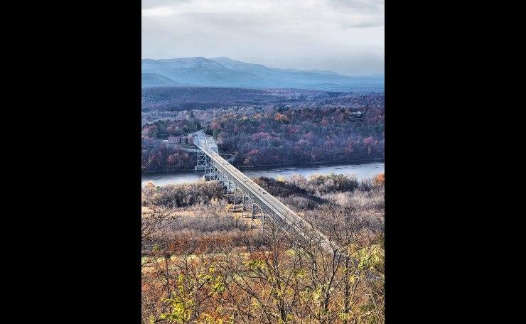 The Rip Van Winkle Bridge as seen from Olana II