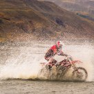 Motocross Over River