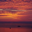 A sunset in Salerno - Un tramonto a Salerno