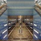 Subway station Hamburg