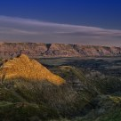 Sunrise at Horseshoe Canyon