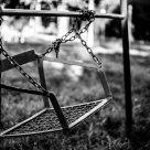 Rusty swing seat