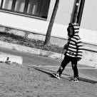 Walking aside