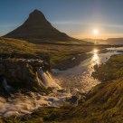 Sunrise at Kirkjufell / Island