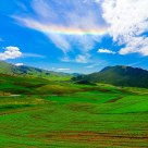 Zhuo'er Mountain: Raibow