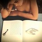 La lectura.The reading.