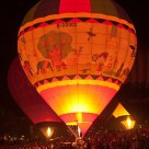 balloons at night Ballon 2015 VII