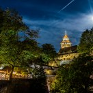 Moon over the Castle of Nuremberg