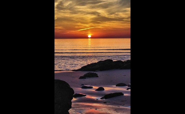 Dawn on the Marginal Way- Ogunquit, Maine