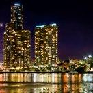 Brisbane River Low Tide (Green)