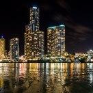 Brisbane River Low Tide (Blue)