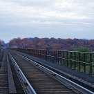 Arcola Bridge in Fall