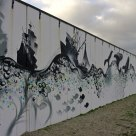Graffiti; story about the polution off the sea