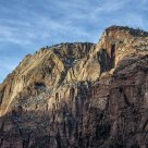 Morning Light At Zion N.P.
