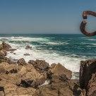 San Sebastian coast art