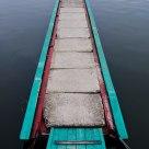 Cyan pier