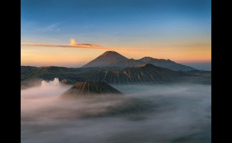 Mt. Batok,Bromo&Semeru