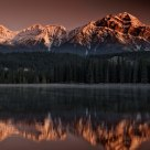 Sunrise at Mildred Lake