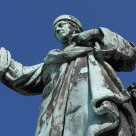 Statue of Laurens Coster, detail