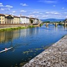 By the Arno River