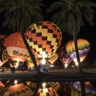 Balloon Glow Reflection
