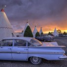 Wigwam Motel Sunset